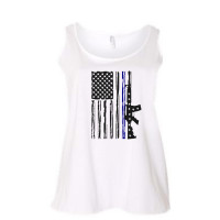 US Navy and Air Force Flag Curvy Collection Tank