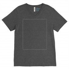 Dark Heather Grey V-Neck BYOT