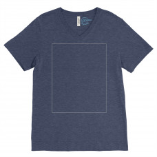 Heather Navy V-Neck BYOT