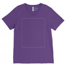 Team Purple V-Neck BYOT