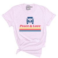 Peace & Love Van T-Shirt