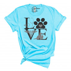 Vet Love Crew Neck T-Shirt