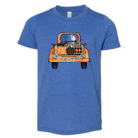 Vintage Trick or Treat Truck Toddler T-Shirt