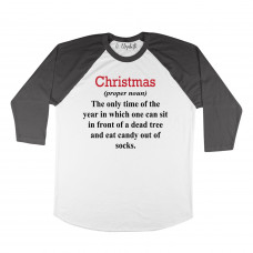 What is Christmas Raglan