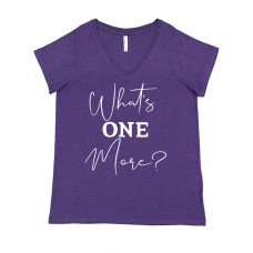 What's One More Curvy Collection V-Neck - Parental Hope