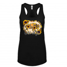 Wild and Free Sunflowers Tank Top
