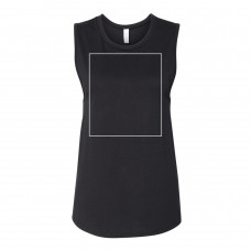 Black Women's Jersey Muscle Tank BYOT