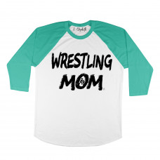 Wrestling Mom Raglan