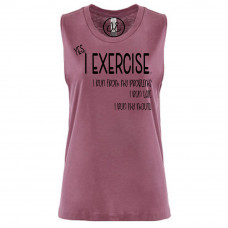 Yes, I Exercise Festival Muscle Tank