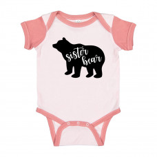 I AM THE Sister BEAR ONESIE