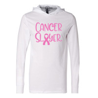 Cancer Slayer Lightweight Hoodie