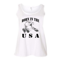 Born in the USA Curvy Collection Tank