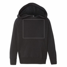 Black Youth Midweight Hooded Sweatshirt BYOT
