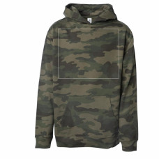 Forest Camo Youth Youth Midweight Hooded Sweatshirt BYOT
