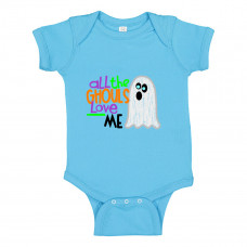 ALL THE GHOULS LOVE ME ONESIE