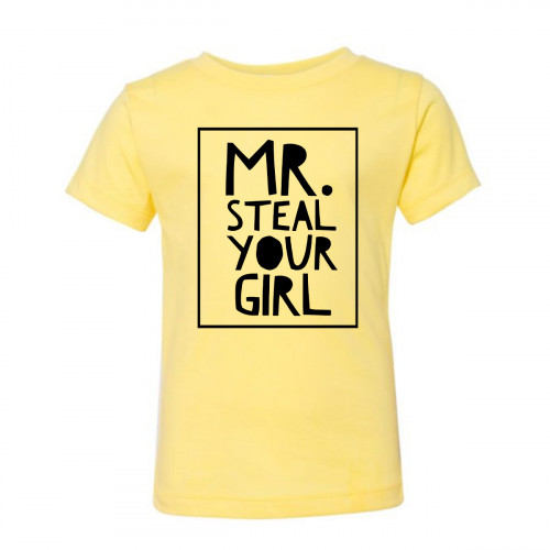 MR. STEAL YOUR GIRL Toddler T-Shirt