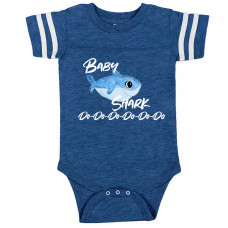 BABY SHARK Football Onesie