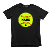 Softball Name Custom Youth T-Shirt