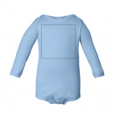 Light Blue Long Sleeve Onesie BYOT