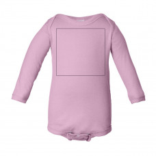 Pink Long Sleeve Onesie BYOT