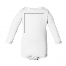 White Long Sleeve Onesie BYOT