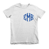 Customized Diamond Monogram Embroidered KIDS