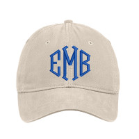 Customized Diamond Monogram Embroidered Hat