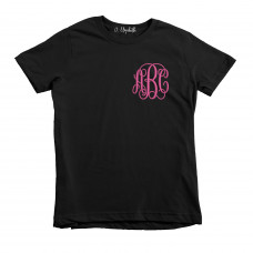 Customized Cursive Monogram Embroidered KIDS