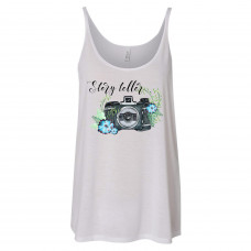 Story Teller Photographer Slouchy Tank