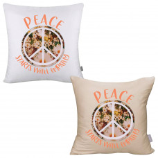 Peace Starts With Empathy Pillow Cover