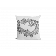 Happy V-Day Pillow Cover - Color Your SOUL