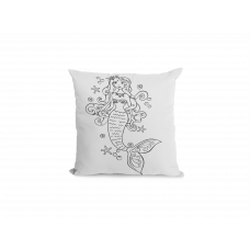 Mermaid Under the Sea Pillow Cover - Color Your SOUL