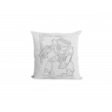 Robot Pillow Cover -  Color Your SOUL