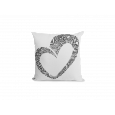 Stylish Heart Pillow Cover - Color Your SOUL