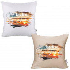 Be The Sunshine Pillow Cover
