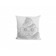 St. Patty's Poop Pillow Cover - Color Your SOUL