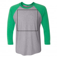 Envy / Premium Heather Color Raglan BYOT