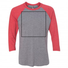 Vintage Red/Premium Heather Color Raglan BYOT