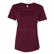 Maroon Women's Relaxed Crew BYOT
