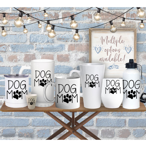 Dog Mom Drinkware (Multiple Options)