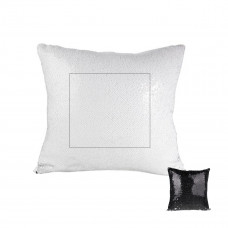 Black Reversible Sequin Sublimation Pillow Case