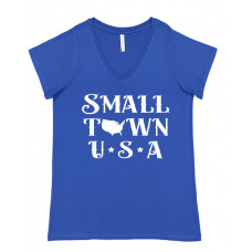 Small Town USA Curvy Collection V-Neck