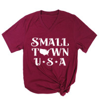 Small Town USA V-Neck