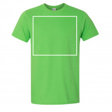 Soft Style Electric Green Crew Neck BYOT