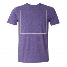 Soft Style Heather Purple Crew Neck BYOT