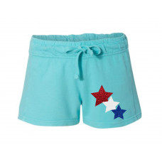 Stars of America Printed French Terry Shorts