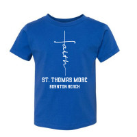 St. Thomas More Faith Cross Toddler T-Shirt