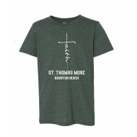 St. Thomas More Faith Cross Youth T-Shirt