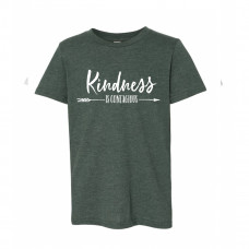KINDNESS IS CONTAGIOUS Youth T-Shirt