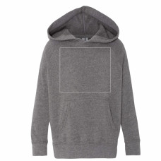 Nickel Toddler Raglan Hooded Sweatshirt BYOT